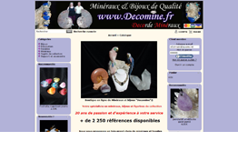 Décomine - Minéraux et Bijoux