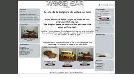 Wood Car - Sculpture voiture bois